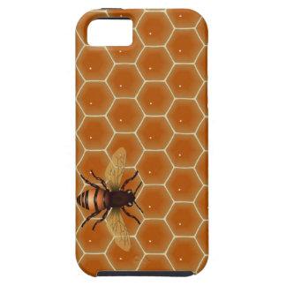 Peine y abeja de la miel iPhone 5 carcasa