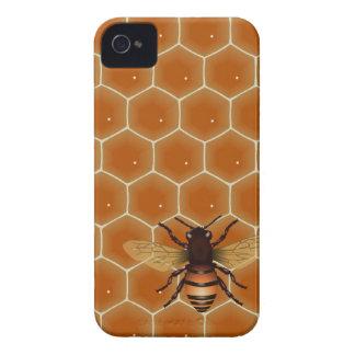 Peine y abeja de la miel Case-Mate iPhone 4 cárcasa