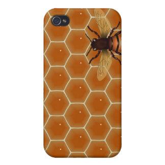 Peine y abeja de la miel iPhone 4 cobertura