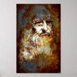 Peintres-De Vinci_Painting Poster