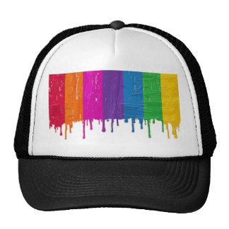 peinture mesh hats