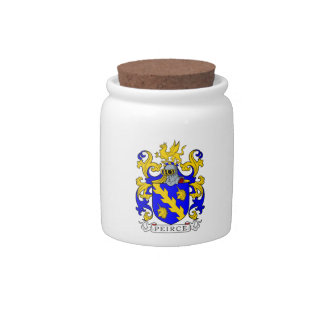 Peirce Coat of Arms III Candy Dish
