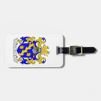 Peirce Coat of Arms III Luggage Tags