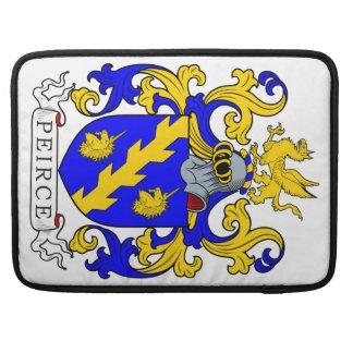 Peirce Coat of Arms III MacBook Pro Sleeve