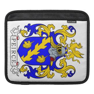 Peirce Coat of Arms III Sleeve For iPads