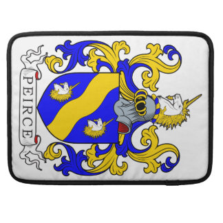 Peirce Coat of Arms Sleeve For MacBooks
