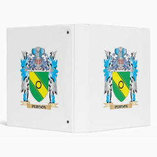 Peirson Coat of Arms - Family Crest Binder
