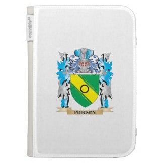 Peirson Coat of Arms - Family Crest Case For Kindle
