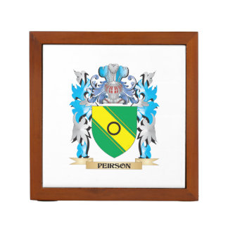 Peirson Coat of Arms - Family Crest Pencil/Pen Holder