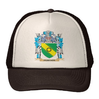 Peirson Coat of Arms - Family Crest Trucker Hat