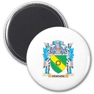 Peirson Coat of Arms - Family Crest 2 Inch Round Magnet