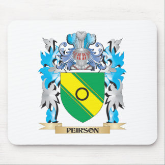 Peirson Coat of Arms - Family Crest Mouse Pad