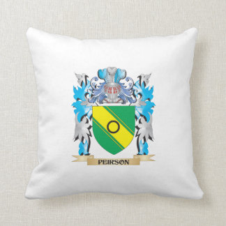 Peirson Coat of Arms - Family Crest Pillows