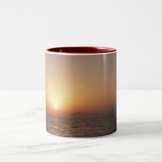 peisaje Two-Tone coffee mug