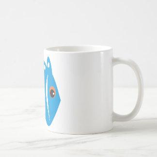 peixe azul coffee mug