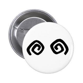Peke Button Pin Redondo 5 Cm