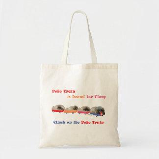 Peke Train - Bound for Glory Tote Bag