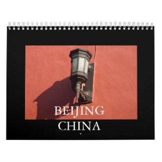PEKÍN CHINA CALENDARIOS