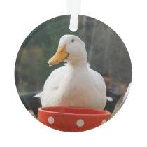 Pekin Duck Ornament