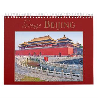 PEKÍN escénica Calendarios