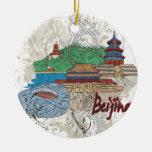 Pekín Ornamento De Navidad