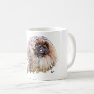 Peking-ista Mug from Leash Designs