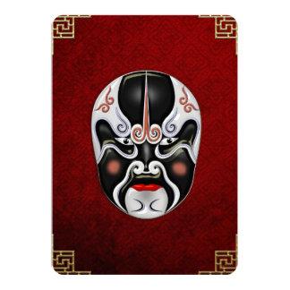 Peking Opera Face-paint Masks - Chong Heihu Card