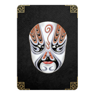 Peking Opera Face-paint Masks - Chong Houhu Card
