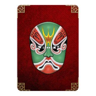 Peking Opera Face-paint Masks - Zheng Lun Card