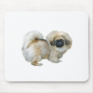 Pekingese (#4) - black mask mouse pad