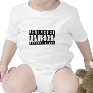 Pekingese Advisory Noxious Fumes T Shirt
