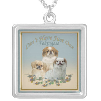 Pekingese Can't Have Just One Necklace
