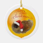 Pekingese Christmas Ornament