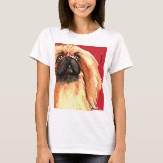 Pekingese Color Block T-Shirt