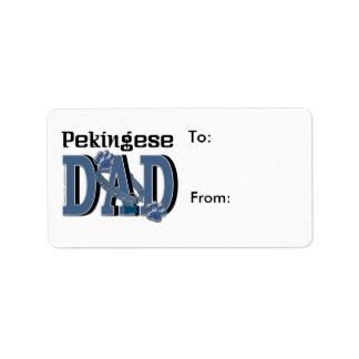 Pekingese DAD Label
