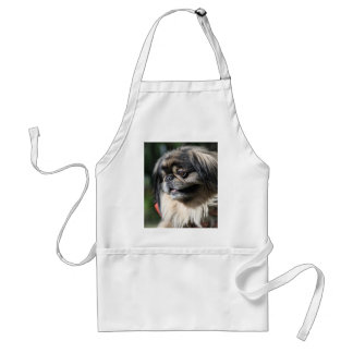 Pekingese dog adult apron