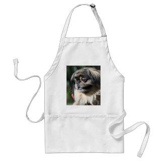 Pekingese dog apron