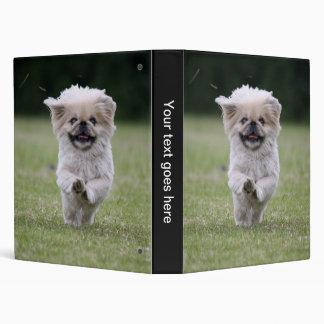 Pekingese dog binder, cute photo album, gift binder