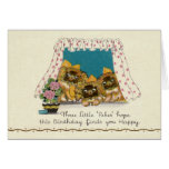 Pekingese Dog Birthday Card