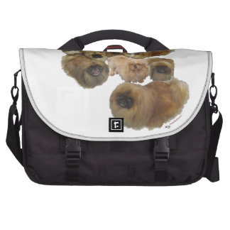 Pekingese Group Laptop Bags
