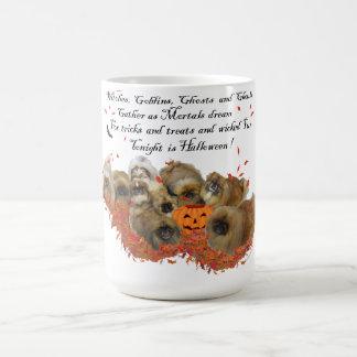 Pekingese Halloween Coffee Mug
