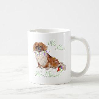 Pekingese is Not Amused Classic White Coffee Mug