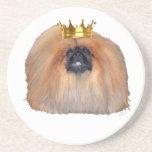 Pekingese King (Customize if you Wish!) Coaster