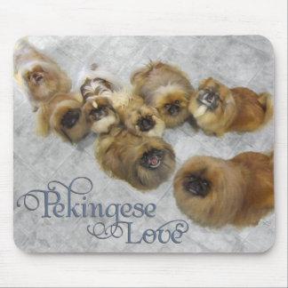 Pekingese Love Mouse Pad