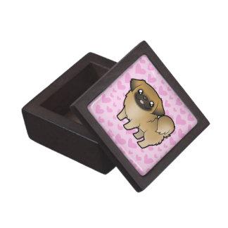 Pekingese Love (puppy cut) Gift Box