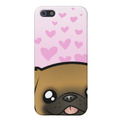 Case Savvy iPhone 5 Matte Finish Case with Pekingese Phone Cases design