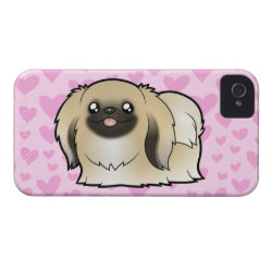 Case-Mate iPhone 4 Barely There Universal Case with Pekingese Phone Cases design