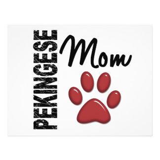 Pekingese Mom 2 Full Color Flyer
