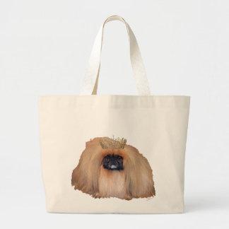 Pekingese Queen (Customize if you Wish!) Tote Bag