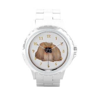 Pekingese Queen Wrist Watch